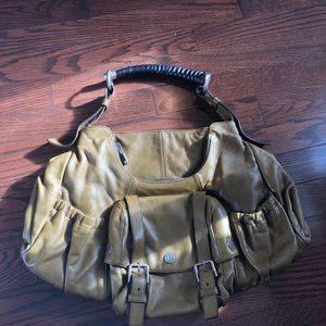Vintage YSL Leather Purse